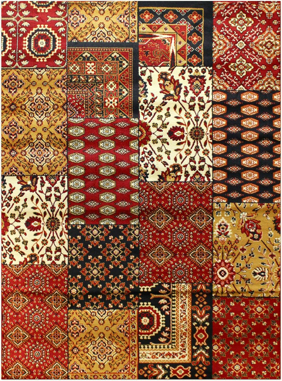 Turkish Rugs Elif Collection 566red Rug Turkish Area